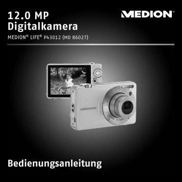 Bedienungsanleitung 12.0 MP Digitalkamera - Medion