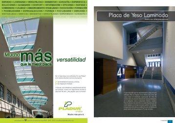 Placa de Yeso Laminado - Promateriales