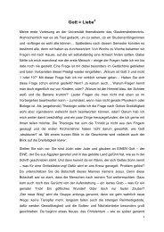 Predigt von Katharina Grager - Katholische Kirche Steiermark