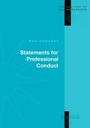 Statement of Professional Conduct