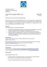 Kurs-PM - KTH Particle and Astroparticle Physics - Kungliga ...