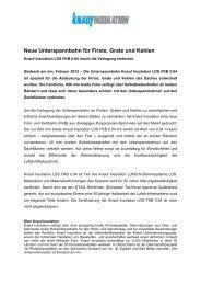 Neue Unterspannbahn für Firste, Grate und Kehlen - Knauf Insulation