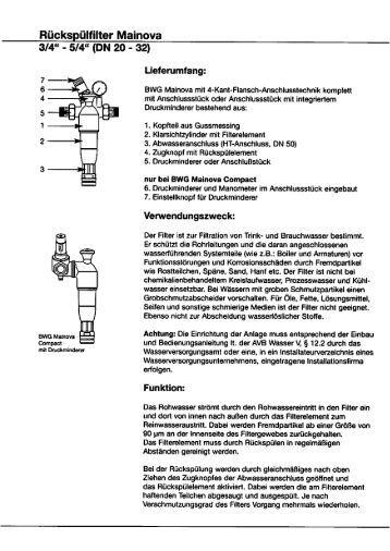Einbau- und Bedienungsanleitung - World of Heating