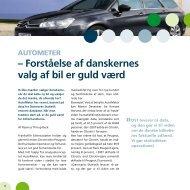 – forståelse af danskernes valg af bil er guld værd - Danmarks Statistik