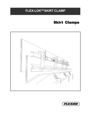 Skirt Clamps - Flexco