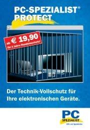 Der Technik-Vollschutz für Ihre elektronischen Geräte.