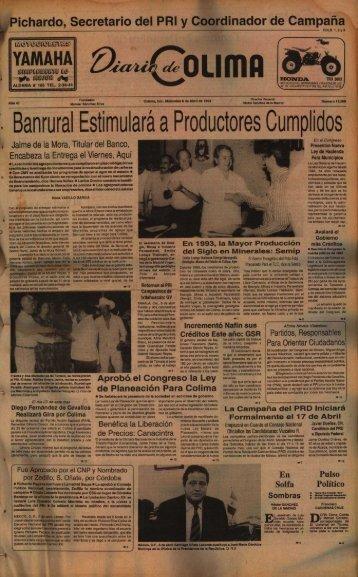 Banrural Estimular~ Cumplidos a Productore s • - Universidad de ...