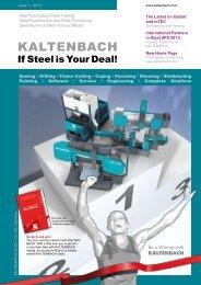 Customer Magazine 2-2010 (PDF) - Hans Kaltenbach ...