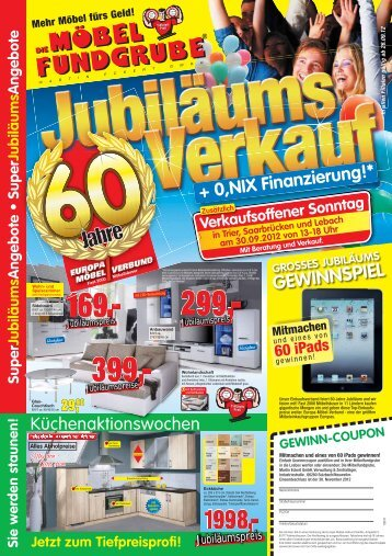 Jubilaums Angebot