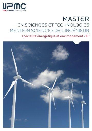 Brochure de la formation - Master 2 en Mécanique des fluides et ...