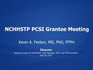NCHHSTP Grantee Meeting - Urban Coalition for HIV/AIDS ...