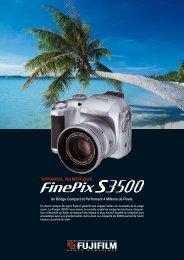 Fiche Produit FinePix S3500 .pdf