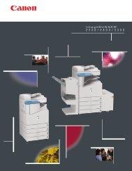 Product Brochure - Advanced Copier Technology