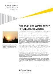 Nachhaltiges Wirtschaften in turbulenten Zeiten - Rudolf X. Ruter
