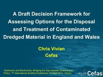 A Draft Decision Framework for Assessing Options for the ... - SedNet