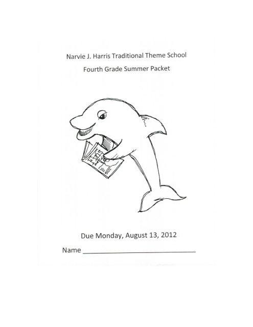 Narvie J  Harris Traditional Theme School Fourth Grade