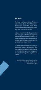 Unternehmensleitsätze - beim Kurtz Ersa Konzern - Seite 3