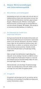 Unternehmensleitsätze - beim Kurtz Ersa Konzern - Seite 6