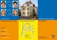 Mädchenwohngruppe St. Wendel Unser Haus ... - Stiftung Hospital