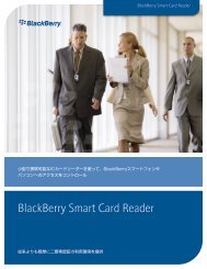 BlackBerry Smart Card Reader