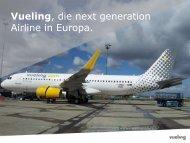 Präsentation Vueling Airlines als PDF