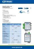 Optische Sende- und Empfangsgeräte - Spaun - Seite 2