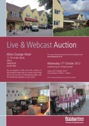 Live & WebcastAuction - Pro Auction