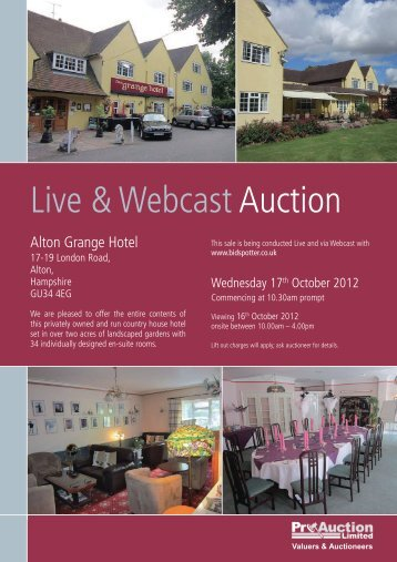 Live & WebcastAuction - Pro Auction