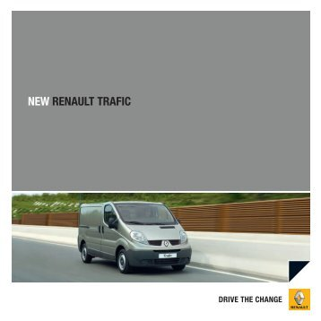 NEW RENAULT TRAFIC - Renault Ireland
