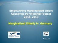 Elderly migrants - Soziale Gerontologie.de