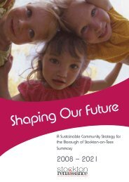 Read the Sustainable Community Strategy Summary 2012