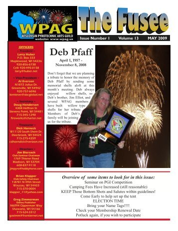 Volume 13 Issue 1 - May 2009 - WPAG