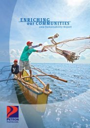 2009 Sustainability Report - Petron