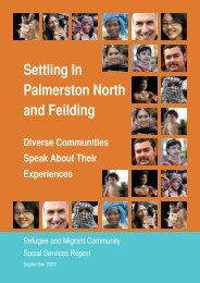 Settling In Palmerston North and Feilding - Human Rights Commission