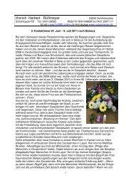 5. Kontaktreise 24. Juni – 6. Juli 2011 nach Belarus - Rüßmeyer