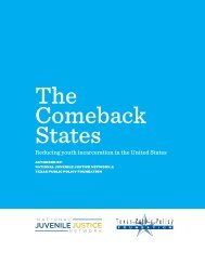 The Comeback States - National Juvenile Justice Network