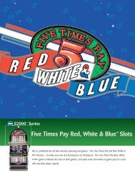 Five Times Pay Red, White & Blue™ Slots - IGT