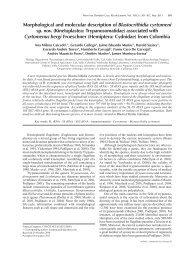 Morphological and molecular description of ... - Bioline International