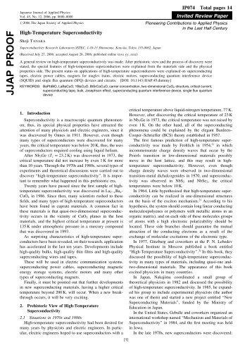 High-Temperature Superconductivity - W2agz.com