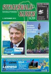 Ausgabe 1058 - Steigerwald-Kurier