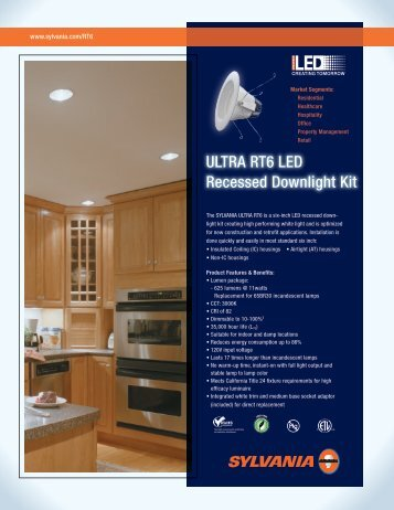 ULTRA RT6 LED Recessed Downlight Kit - Albrite Lighting