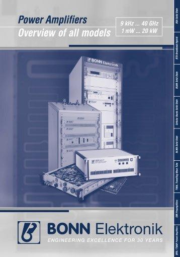 View Bonn Elektronik BSA0122-50 Specifications - TekNet Electronics