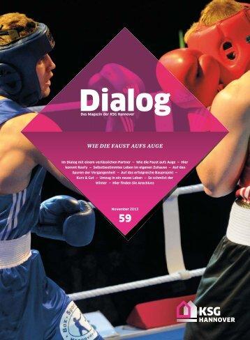 Dialog 59 - KSG Hannover