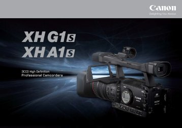 Professional Camcorders - Canon in South and Southeast Asia