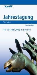 Jahrestagung - VAF - Bundesverband Telekommunikation eV