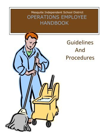 Guidelines And Procedures - Mesquite ISD
