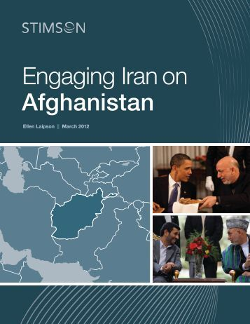 "to read ""Engaging Iran on Afghanistan."" - The Stimson Center"