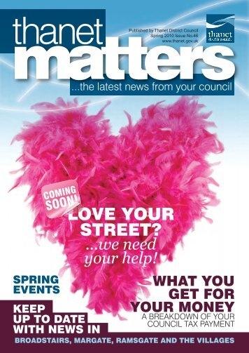 Thanet Matters Spring 2010 - Thanet District Council
