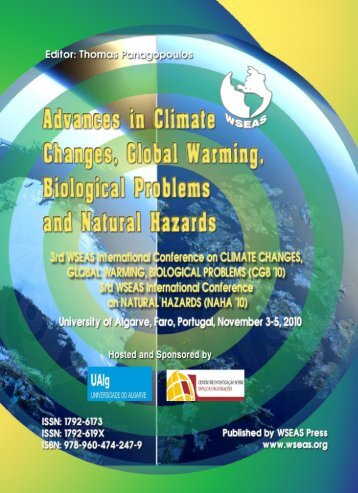 ADVANCES in CLIMATE CHANGES, GLOBAL ... - Wseas.us