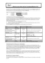 Berechnung Gesamtqualifikation für G9 - Gymnasium Lindlar